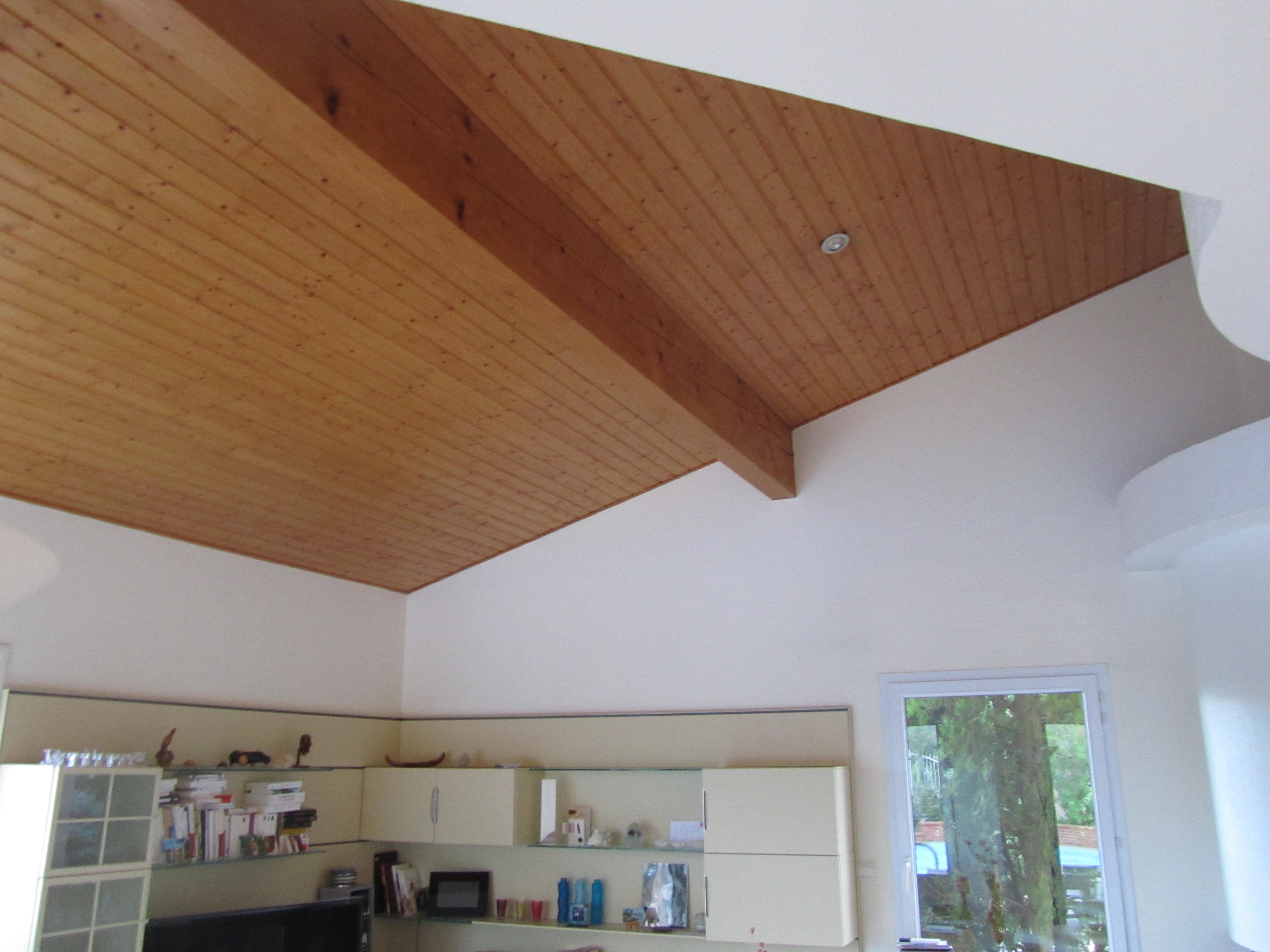 Toulouse un plafond tendu extenzo satin pour r nover for Bandeau lumineux plafond
